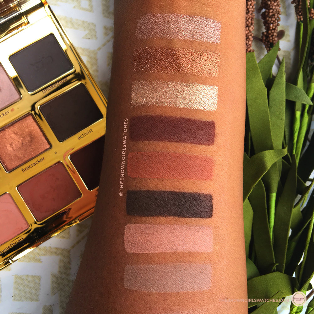 Tartelette in Bloom Swatches