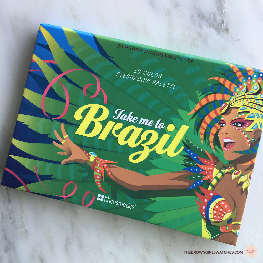 Take Me to Brazil Palette Packaging