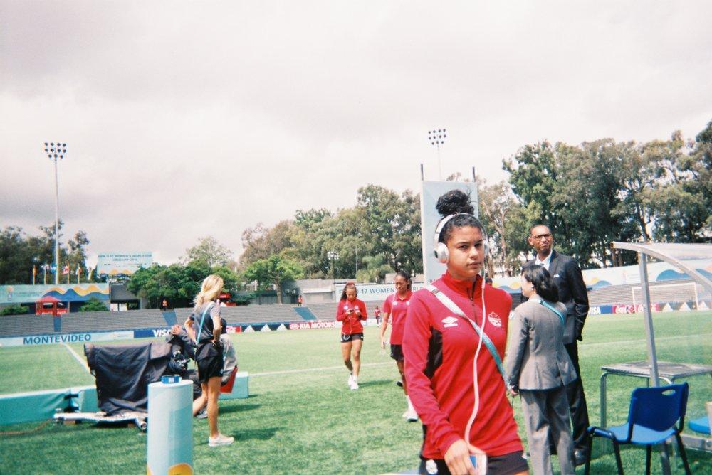 Andersen Williams - member of Canada's U17 Women's National Team
