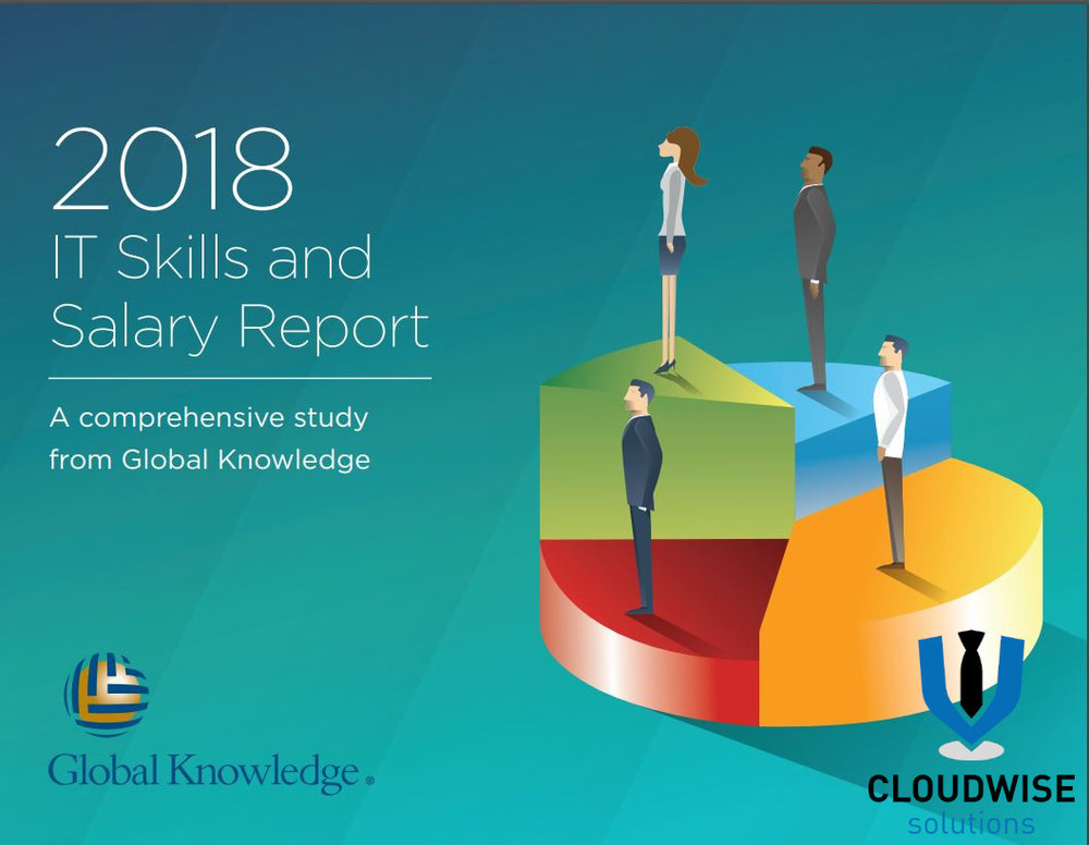 Our Partners Global Knowledge, Release their 2018 IT Skills and Salary Report. - Every year our Partners Global Knowledge continues to provide the most informative and revealing insights of the inner workings of IT departments in the U.S. and Canada. This year, they expanded their scope to include data from Europe, the Middle East, Africa, Latin America, and the Asia-Pacific region thanks to the global participation of over 14,300 IT professionals.to read and download this report, please click this link; https://www.globalknowledge.com/en-gb/resources/resource-library/special-reports/2018-it-skills-and-salary-report