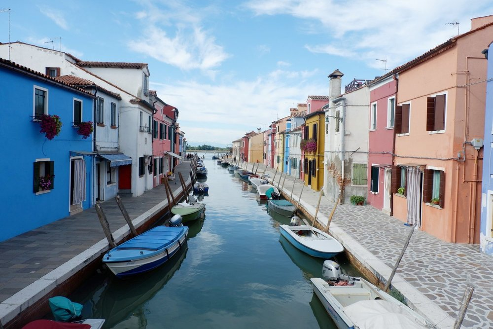 Exploring Burano Island - Take a virtual vacation with our founder to Burano, Italy - the most Instagrammable island ever.