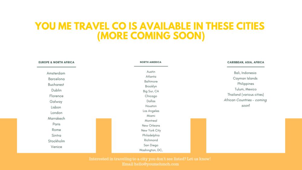 You Me Travel Co - destinations list .png