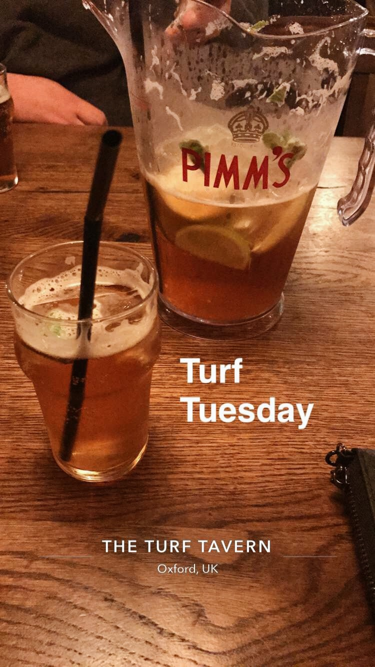 Turf Tavern - July 2017Snapchat..I know... How embarassing