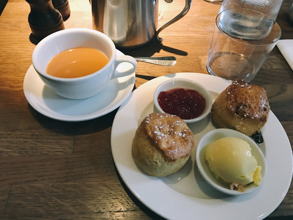 High Tea at The QUOD, Oxford, England  July 2017