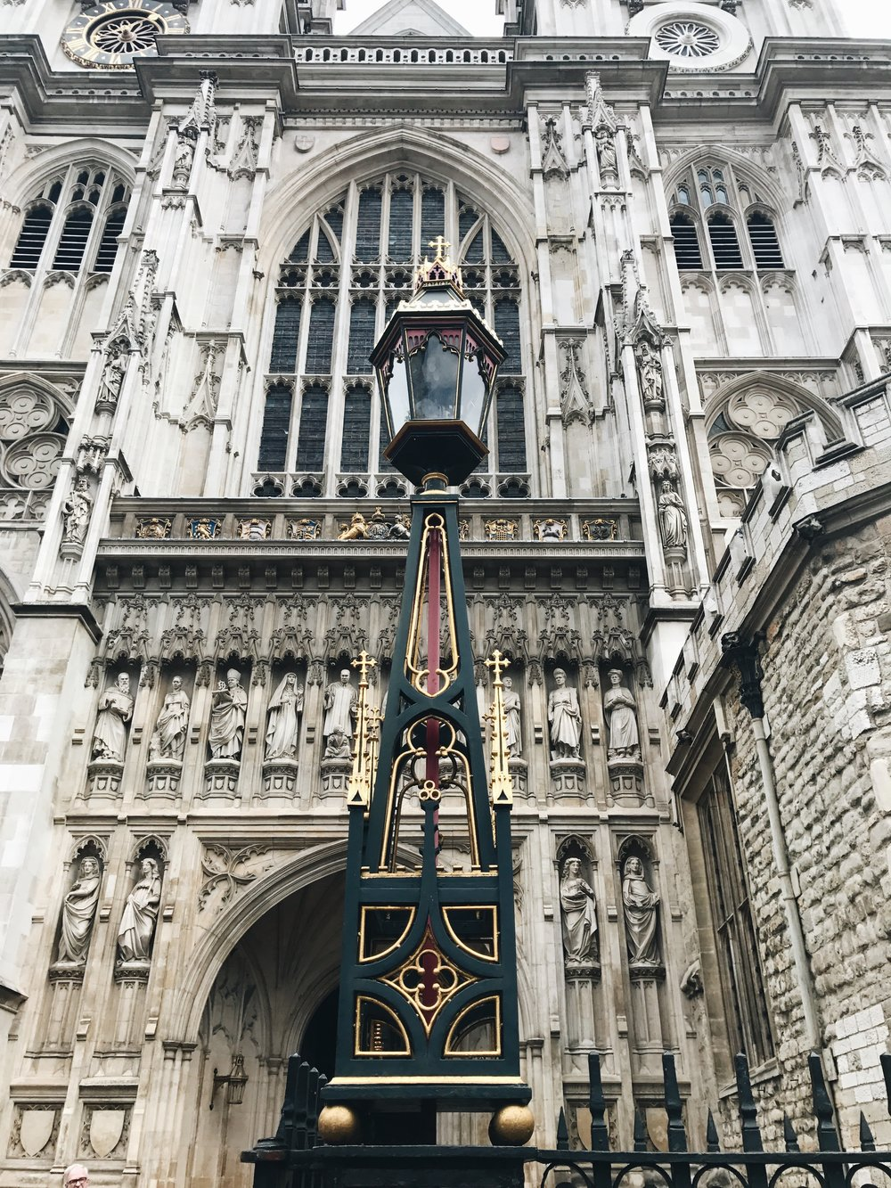 Entrance of Westminister Abbey