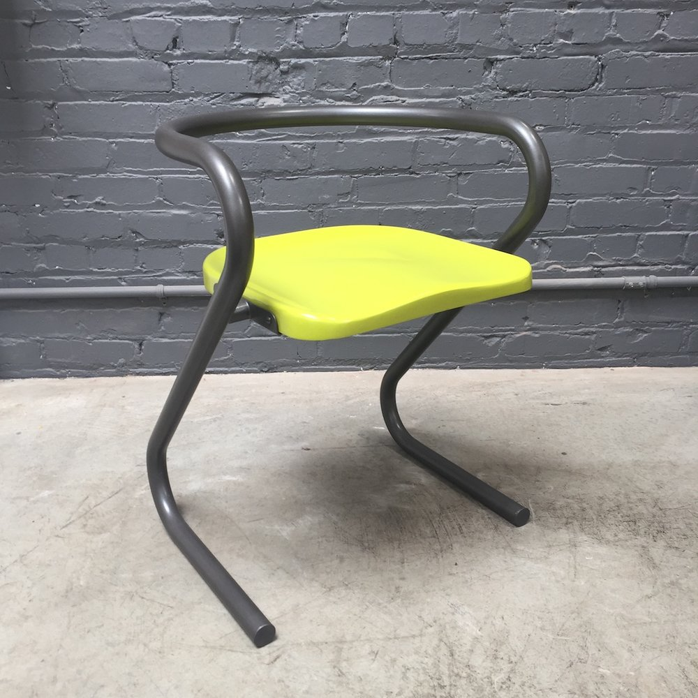 10. RETRO ARM CHAIR, set of 6
