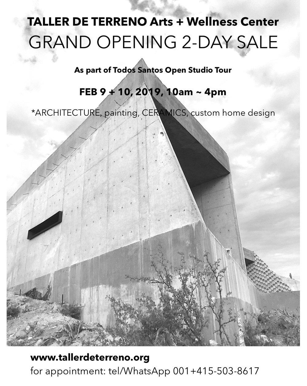 Grand Opening_Taller de Terreno_handbill.jpg