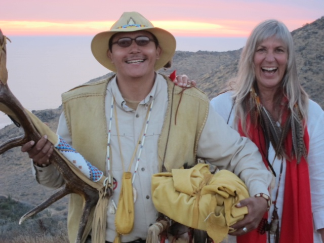 """Daniel """"Two Coyotes"""" Camargo + Lynn Wedekind"""