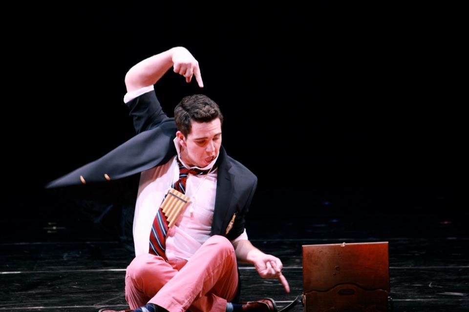 Curtis Opera Theatre: Papageno in Die Zauberflöte  Director:Chas Rader-Shieber  Conductor:Vinay Parameswaran  Photo: Anna Davidson