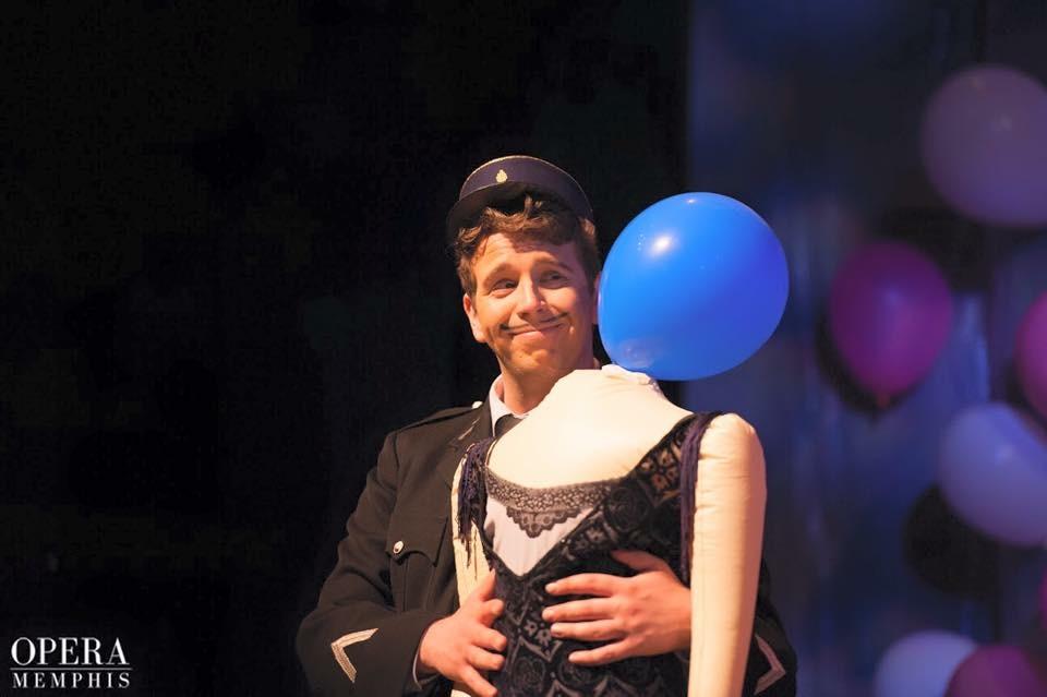 Memphis Opera: Le gendarme in Le mamelles de Thérèse  Director: Ned Canty  Conductor: Ben Makino  Photo: Sona Peric