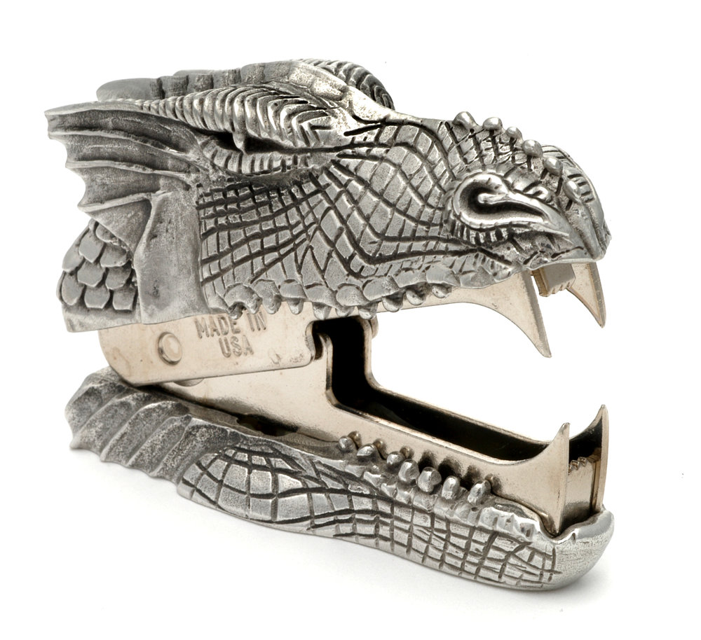 SR03 Dragon's Breath - Staple Remover. Pewter Made in USA