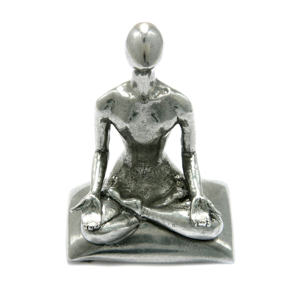 PH85 - Serenity Pen Holder - Pewter Made in USA
