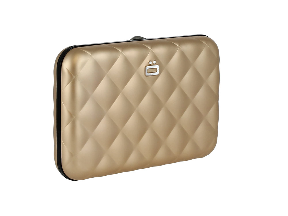 Quilted Button - Rose Gold