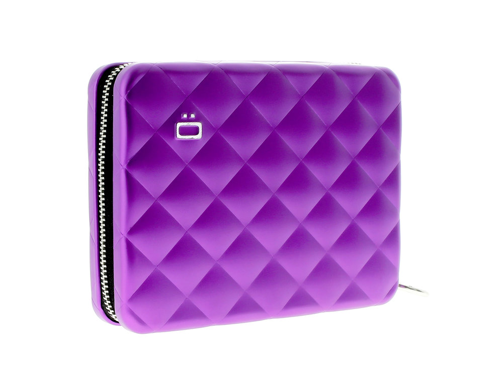 Quilter Passport Wallet - Purple