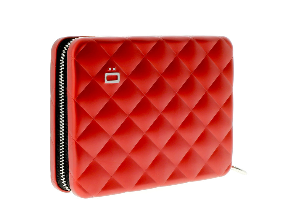 Quilter Passport Wallet - Red