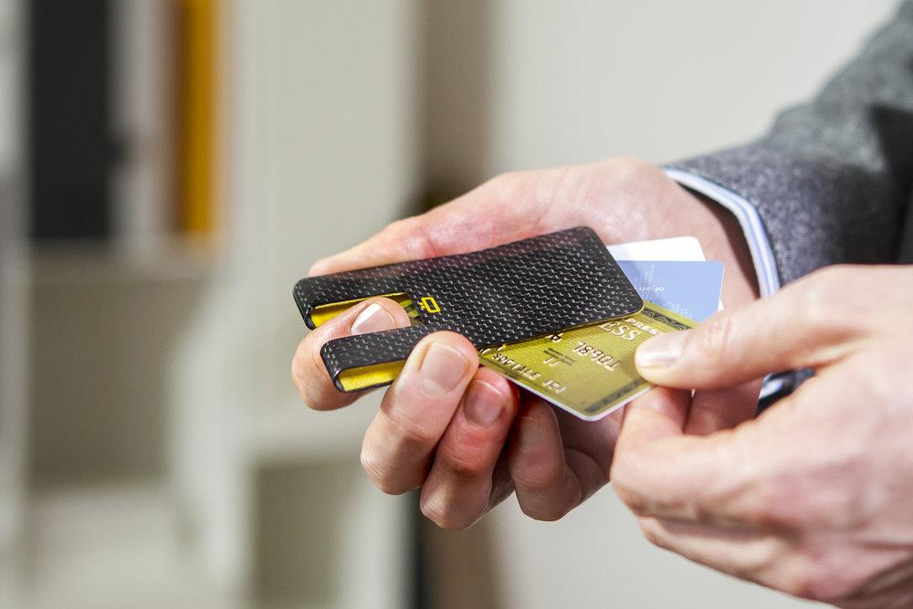 3C Carbon Fiber Card Clip