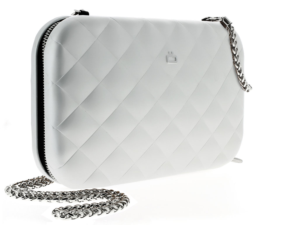 Quilted Lady Bag - Silver