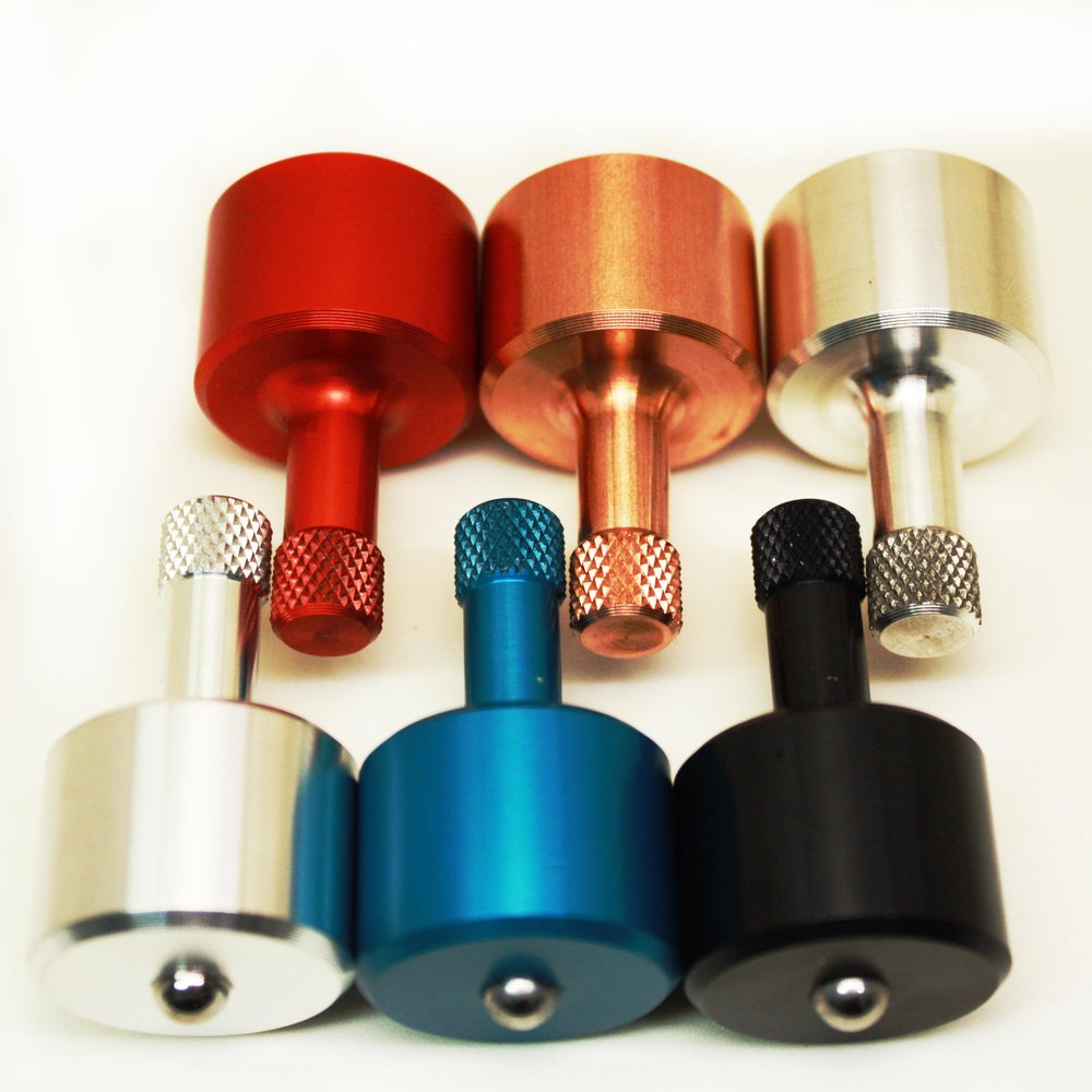 Spiffy Spinners The Spiffy Lab Pocket Spinners Made from either Aluminum, Magnesium or Copper. These tops are made to Spin! lasting anywhere up to 5 minutes with a good spin. Take these with you to actually impress your friends.