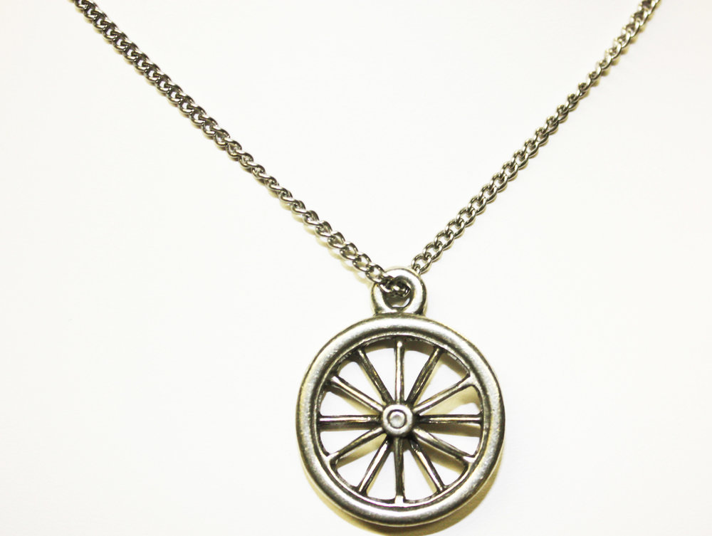 Bike Wheel Pendant