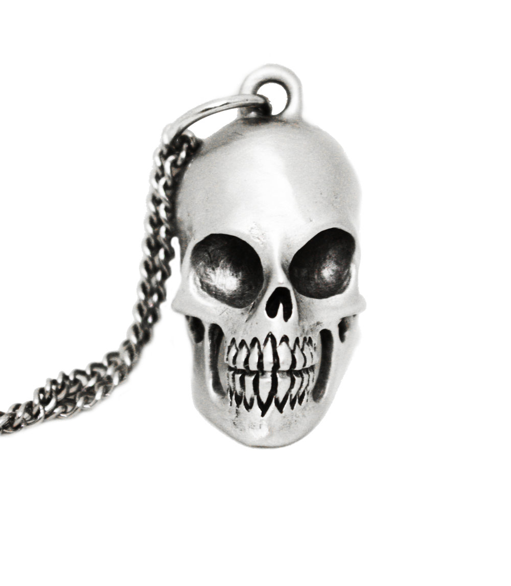 Business Skull Pendant