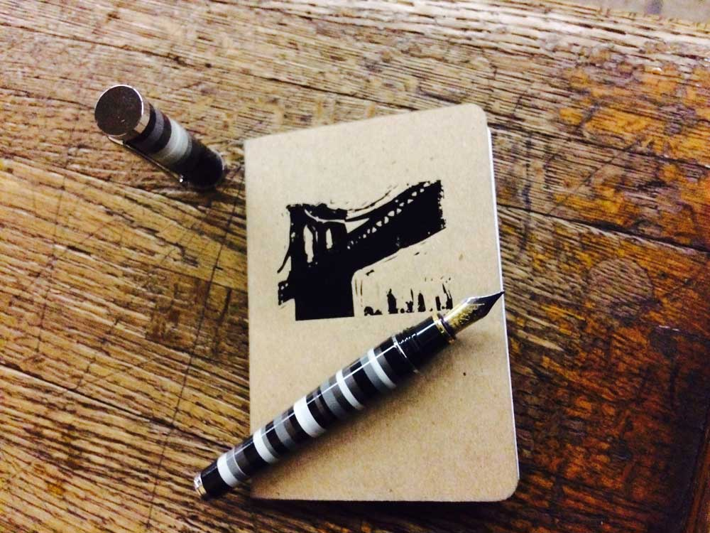 Brooklyn Bridge Pocket Notebook