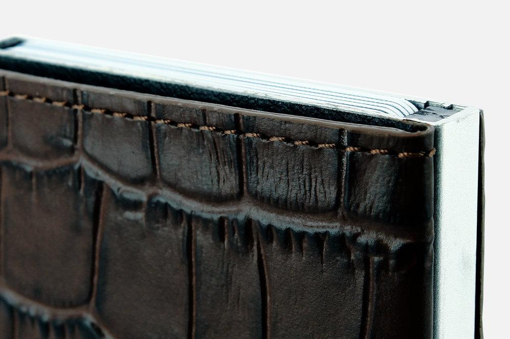 Ogon Cascade Wallet - Croco