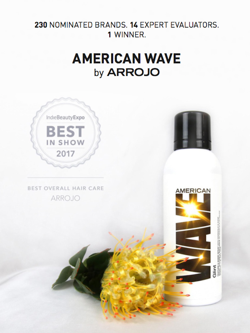 American Wave wowed the judges with its organic ingredient story & efficacy.
