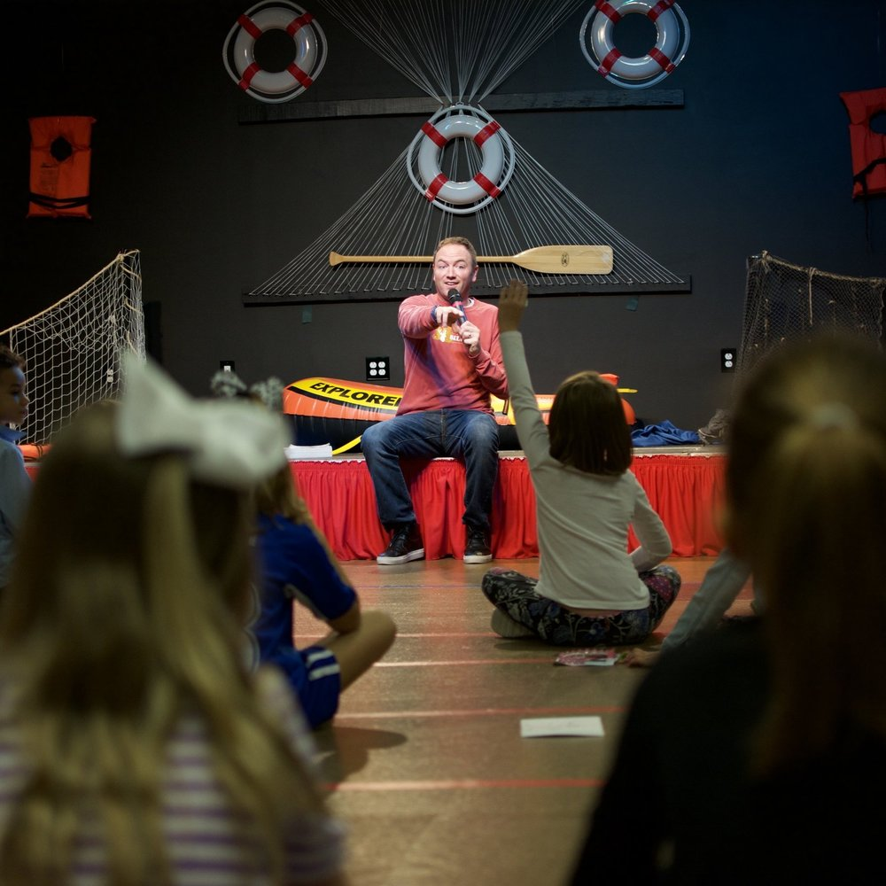 TEACHING - Kids can experience safe and fun environments where the Bible is taught in a creative way and where they meet Jesus on their level.