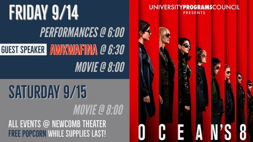 UPC Presents Oceans 8