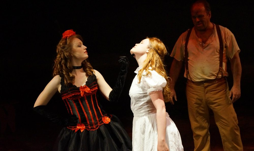"Lucy Shea in ""The Dream Ballet"" in Oklahoma!"