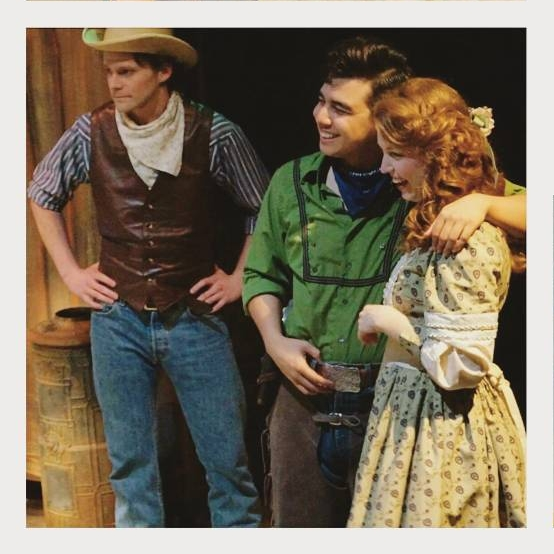 Lucy Shea as Gertie in Oklahoma!