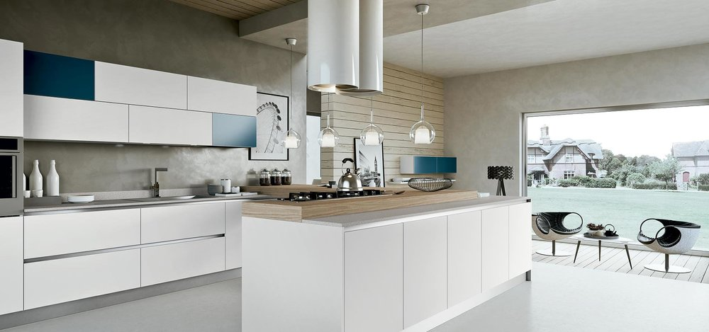 Siria, one of many stunning kitchens, available exclusively from our Arredo 3 range.
