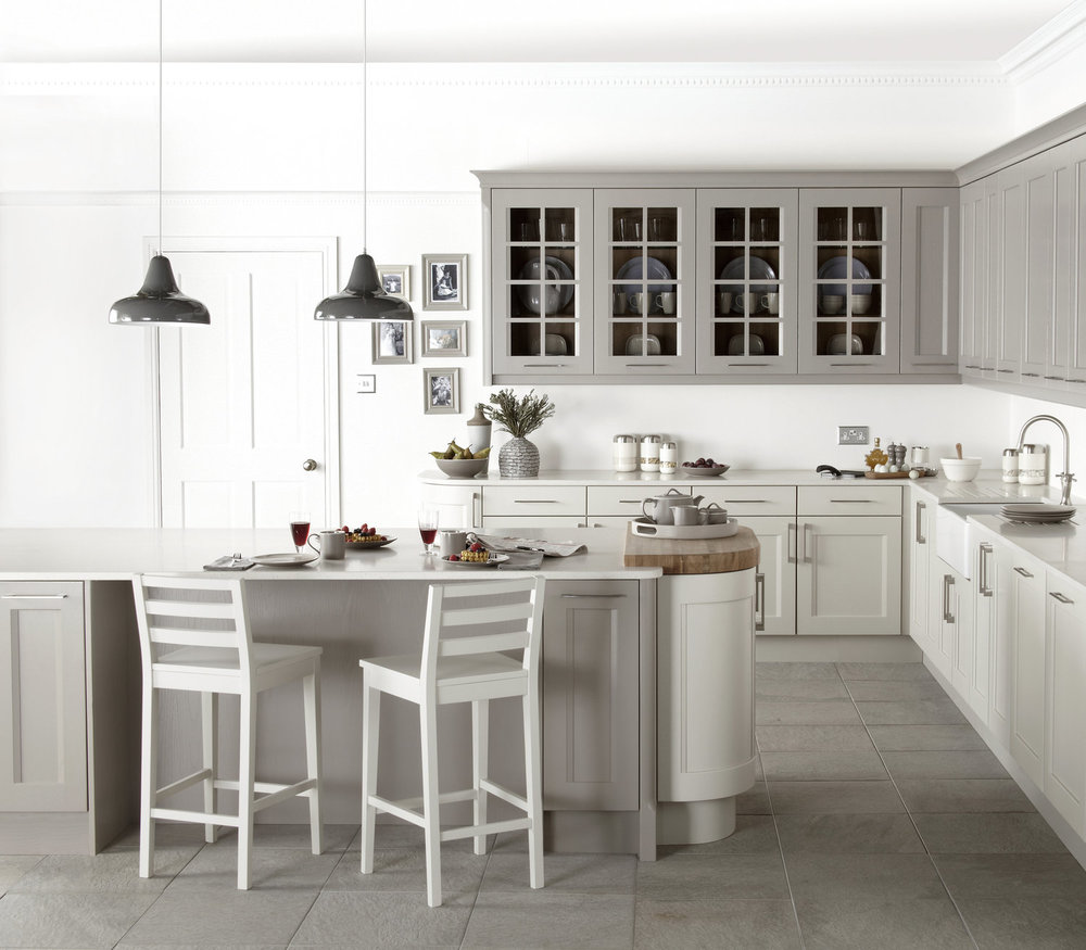our Kew painted kitchen is both Simple and beautiful.