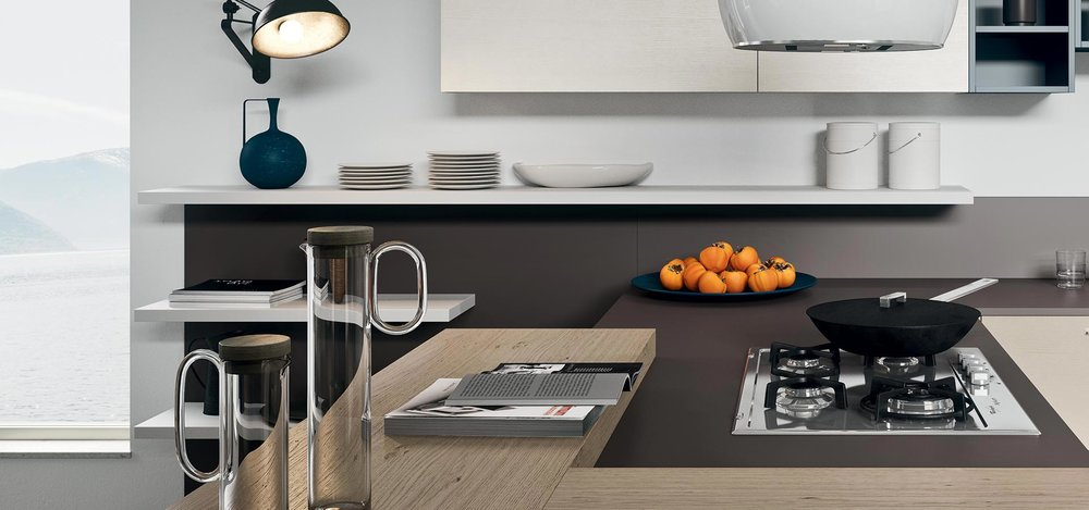A kitchen with plenty of workspace will enrich your enjoyment of cooking.