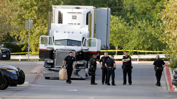Journey Fatal for 9 Migrants Found in Truck in a San Antonio Parking Lot - The New York Times | July 23, 2017