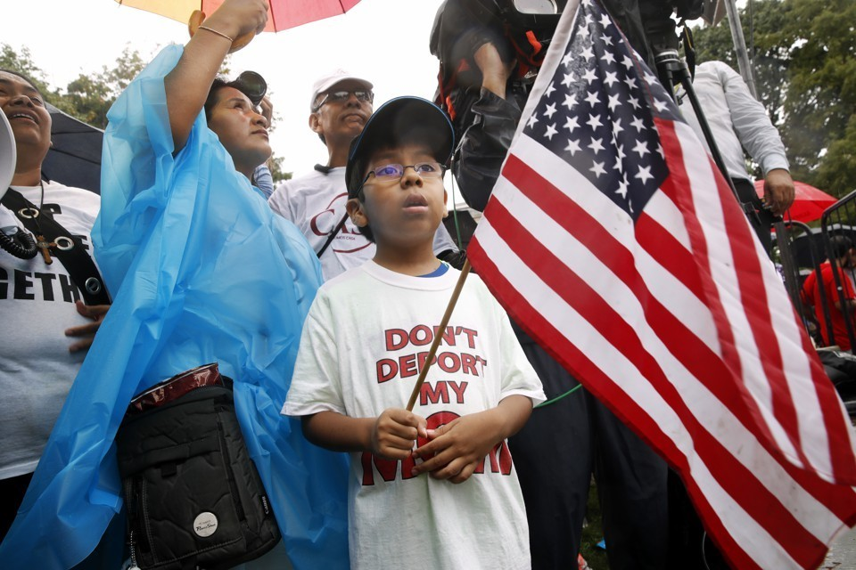 Will DACA Parents Be Forced to Leave Their U.S. Citizen Children Behind? - The Atlantic | October 21, 2017