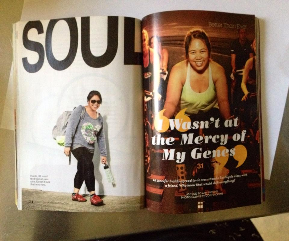 being praised in a national magazine for losing weight fueled my exercise addiction and orthorexia.