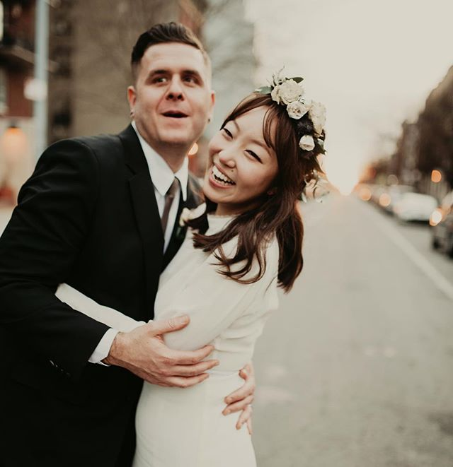 Bryce + Jade 🖤 Such a magical day! . . . . #newyorkweddingphotographer #brooklynweddingphotographer #nycweddingphotographer #ohioweddingphotographer #nycengagementphotographer #redhook #brooklynwedding #brooklyn #radstorytellers #wanderingweddings #muchlove_ig #belovedstories #dirtybootsandmessyhair #wedding #bride #groom  #beautifulkindoflove #wildandcrazylove #loveandwildhearts #junebugweddings #weddingphoto #weddingday #weddingphotography #adventerouslovestories #myfavoritelovestory #gws