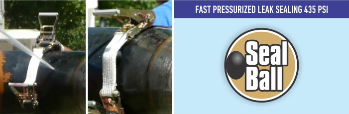 SEALBALL - Fast Pressurized Leak Sealing