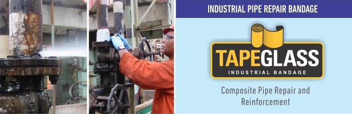 TAPEGLASS - Industrial Pipe Repair Bandage