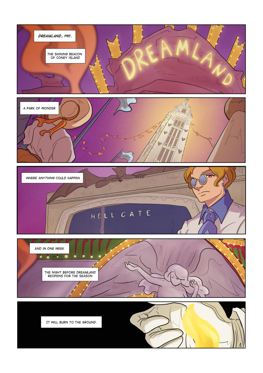 Devils in Dreamland Page 1