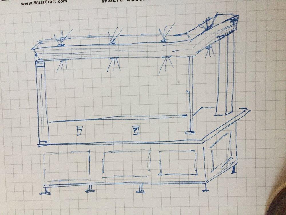 Sketch of a potential bar option.