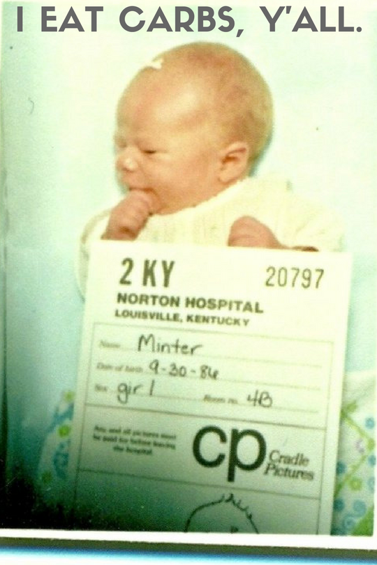 Today we're talkin' about infant nutrition. Can we just take a minute, though, to talk about how baby mugshots were a thing in the '80s? The bow scotch-taped to my bald head really makes the picture. #stylin #beforephotoshop