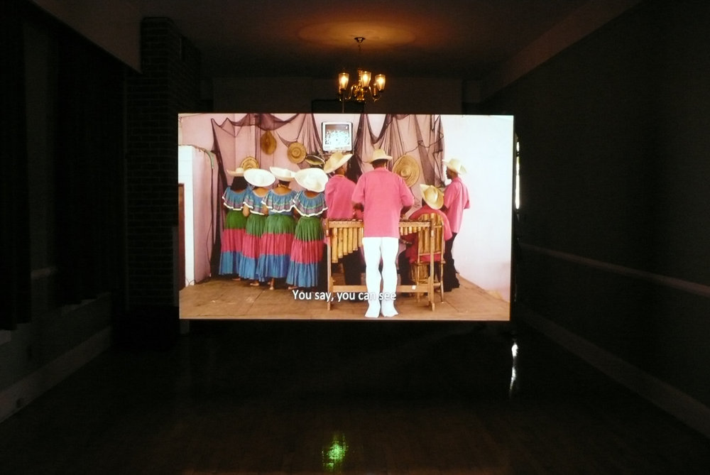 La Tierra de los Libres  2008, 2-channel video installation, color, sound  6 minutes