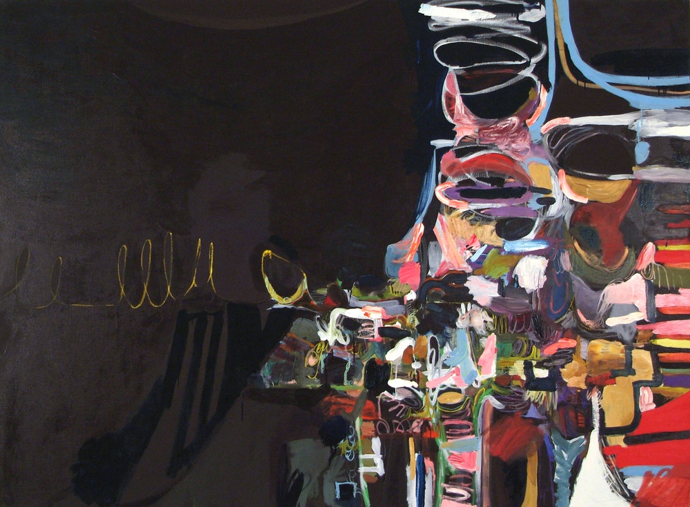 Untitled  2005, Oil on linen  60 x 90 in.