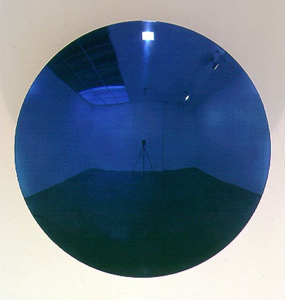 Untitled, 2000 Stainless steel and lacquer 47 1/4 in. diameter, 11 in. deep