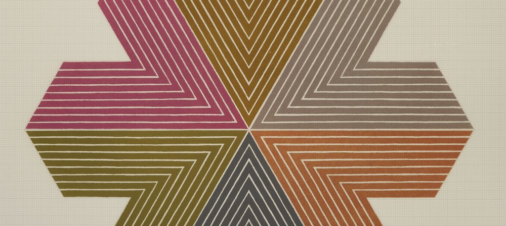 Lines/Edges: Frank Stella on Paper