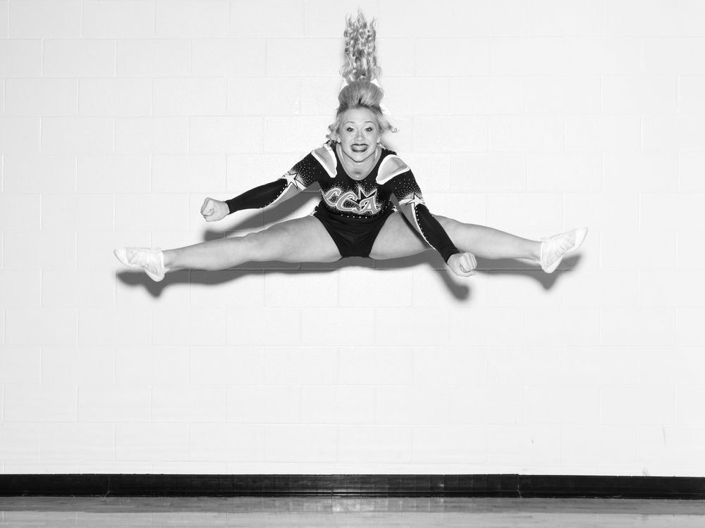 Alec Soth,  Bree. Liberty Cheer All-Stars. Corsicana, Texas , 2013.Courtesy the artist and Sean Kelly Gallery.