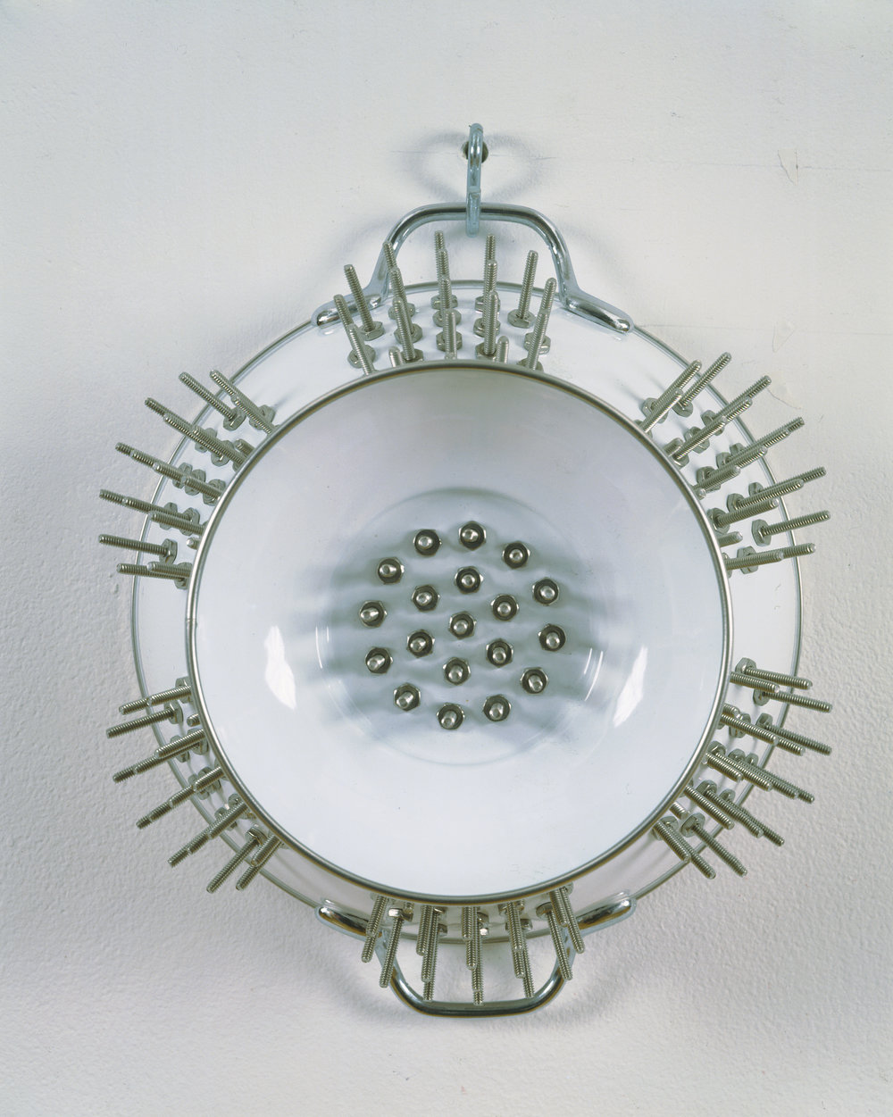 Mona Hatoum,  No Way II , 1996. Photo: Edward Woodman; Courtesy Alexander and Bonin, New York.