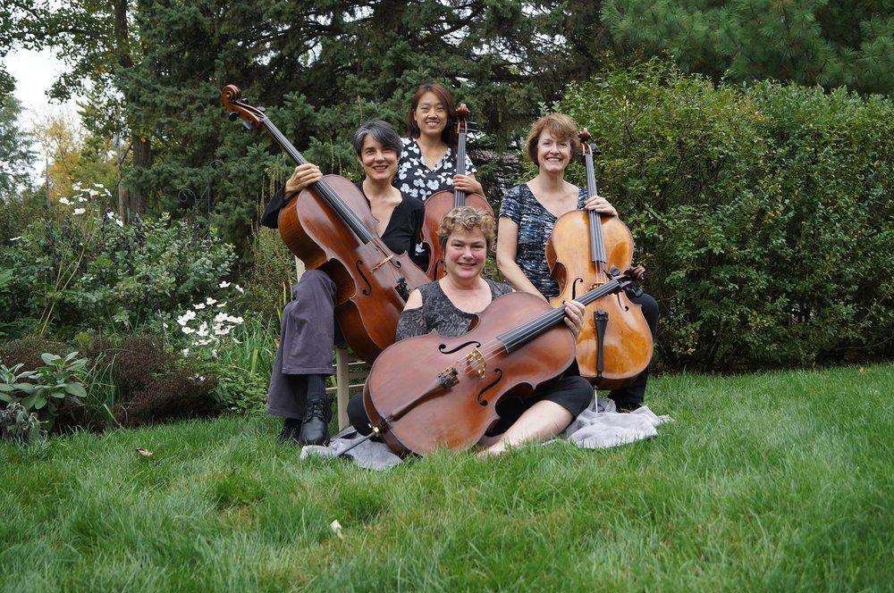 UCelli, the Columbus Cello Quartet.